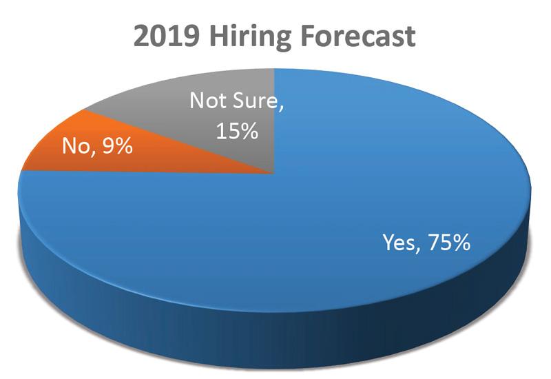 2019 hiring forecast