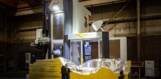 FPT Ronin EVO 3+2-axis horizontal milling machine